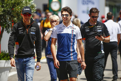 Esteban Ocon, Force India, Lance Stroll, Williams