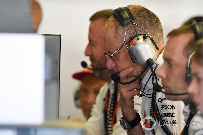 Інженери Mercedes AMG F1 W08
