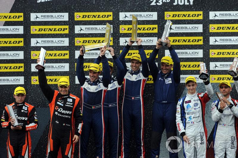 1. #32 United Autosports, Ligier JSP217 - Gibson: William Owen, Hugo de Sadeleer, Filipe Albuquerque