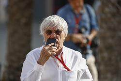 Bernie Ecclestone, président d'honneur Formule 1