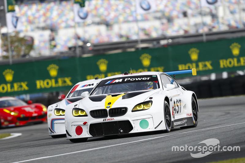 #19 BMW Team RLL BMW M6 GTLM: Bill Auberlen, Alexander Sims, Augusto Farfus, Bruno Spengler