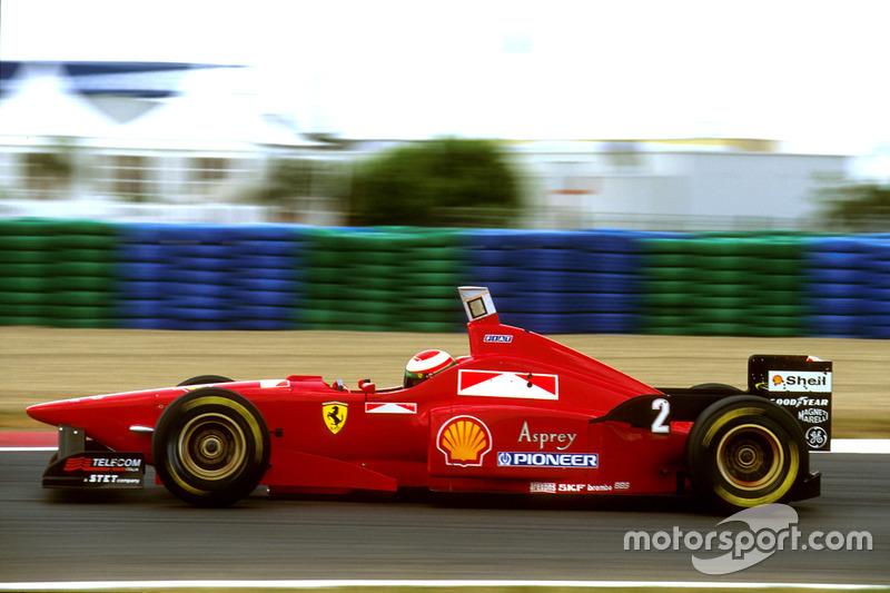 Eddie Irvine, Ferrari F310