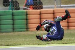 Crash de Maverick Viñales, Yamaha Factory Racing