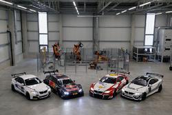 BMW M235i R, BMW M4 DTM, BMW M6 GT3 and BMW M4 GT4