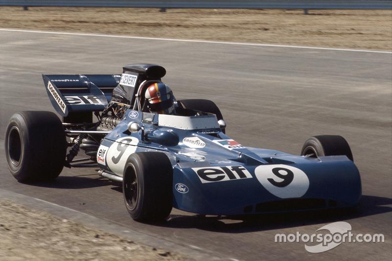 François Cevert (Tyrrell) - GP États-Unis 1971