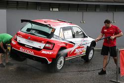 Car of Ole Christian Veiby, Stig Rune Skjærmoen, Team MRF