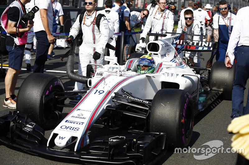 Massa se lució en el GP de Australia, pero...