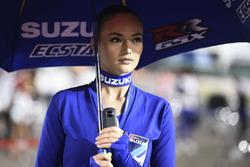 Chica de Team Suzuki MotoGP