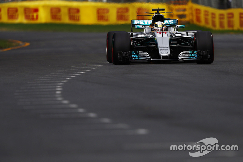 Louis Hamilton, Mercedes AMG F1W08