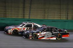 Ryan Preece, Joe Gibbs Racing Toyota e Matt Tifft, Joe Gibbs Racing Toyota