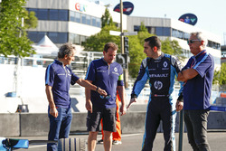 Alain Prost, Sébastien Buemi, Renault e.Dams, and Jean Paul Driot
