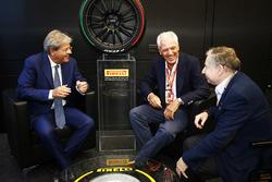 Прем'єр-міністр Італії Паоло Гентілоні, Тронкеті Провера, президент FIA Жан Тодт