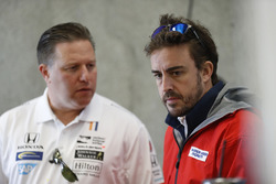 Zak Brown, CEO de McLaren, Fernando Alonso, Andretti Autosport Honda