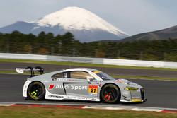 #21 Audi Team Hitotsuyama Audi R8 LMS: Richard Lyons, Masataka Yanagida