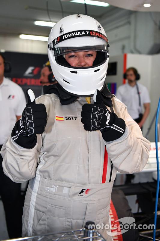 F1 Experiences 2-Seater passenger Belinda,