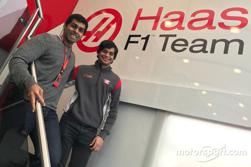 Karun Chandhok, Arjun Maini, Haas F1 Team development driver