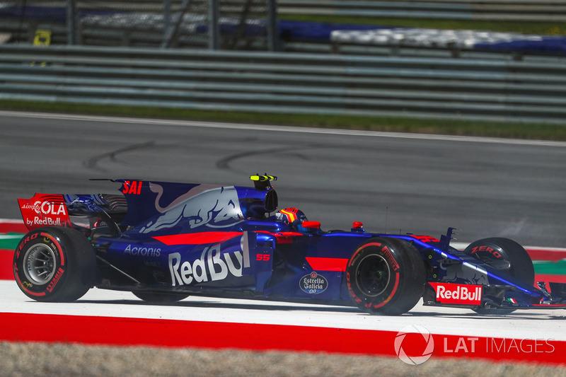 15. Carlos Sainz Jr., Scuderia Toro Rosso STR12