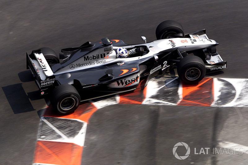 2000: David Coulthard, McLaren-Mercedes MP4/15
