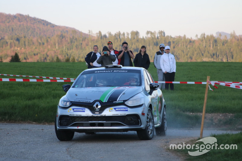 Florian Gonon, Sarah Tharin, Renault Clio R3T, Gonon Rally Team