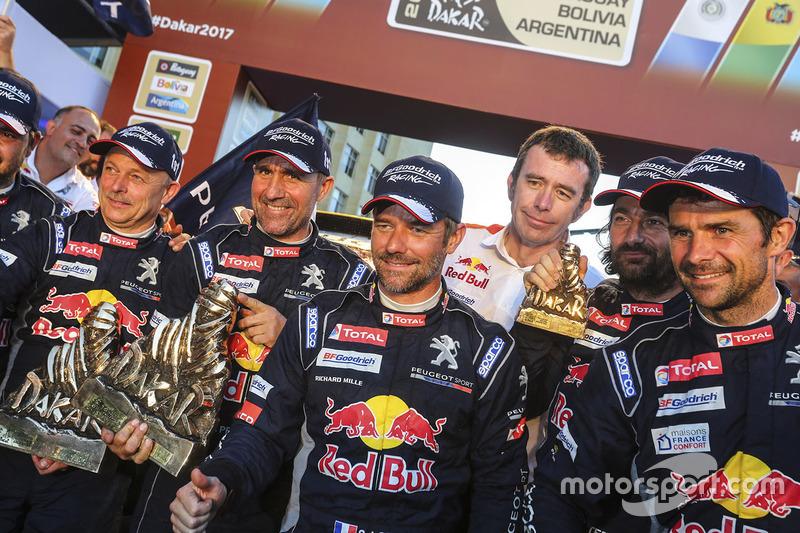 Stéphane Peterhansel, Sébastien Loeb, Peugeot Sport