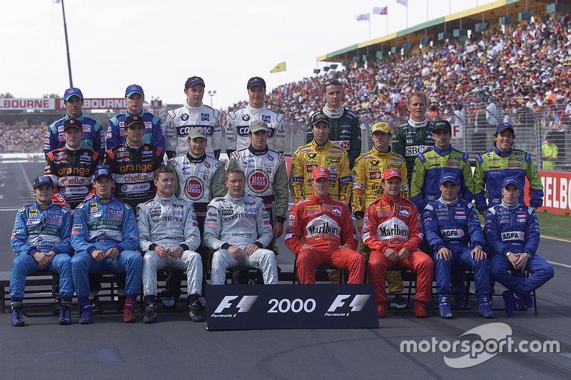2000 Formula 1 sezonu pilotları