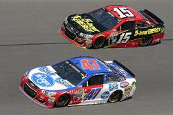 Clint Bowyer, Hscott Motorsports Chevrolet, AJ Allmendinger, JTG Daugherty Racing Chevrolet
