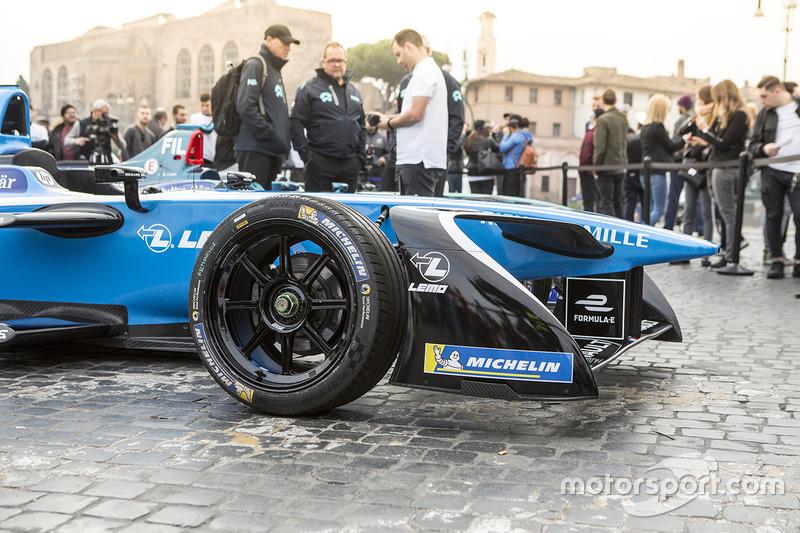 Renault e.Dams en Roma