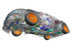 Prodrive GCK Renault Megane RS çizimi