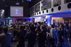 The Crowd looks on in a packed Etihad Stadium as the finals of the VSR Showdown