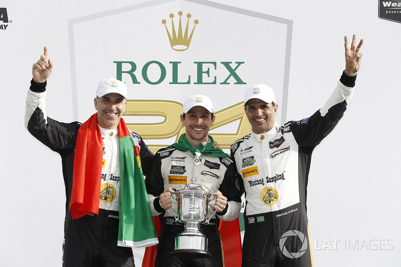 «24 Години Дайтони»: Жуан Барбоза, Крістіан Фіттіпальді, Філіпе Альбукерк, Action Express Racing
