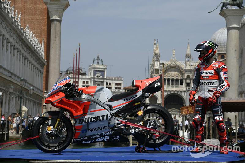 Jorge Lorenzo, Ducati Team, a Venezia