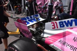 Force India VJM11, alerón trasero