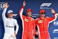 Валттері Боттас, Mercedes-AMG F1, Себастьян Феттель, Ferrari, Кімі Райкконен, Ferrari