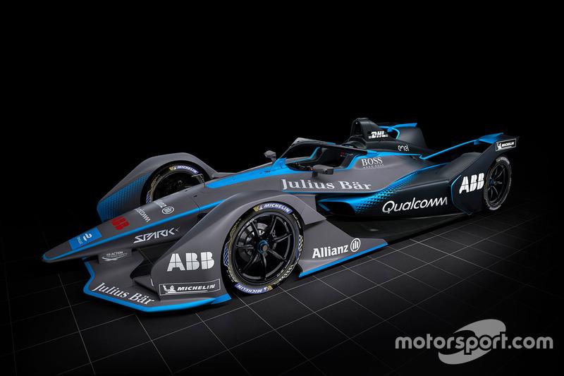 Автомобиль Формулы E второго поколения
