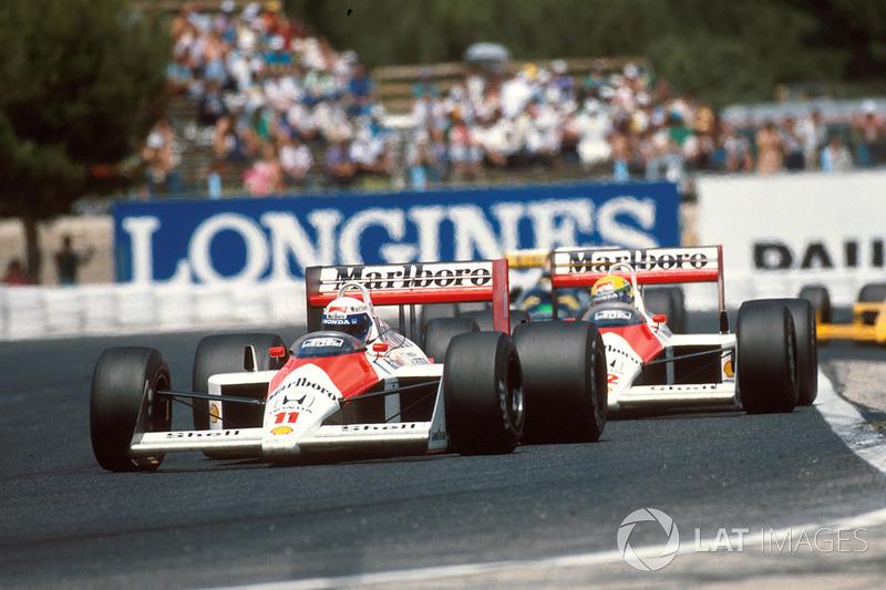1. La temporada de 1988 vio una gran hegemonía de McLaren, equipo que sumó 15 victorias en 16 carreras y que logró también 15 de 16 pole position