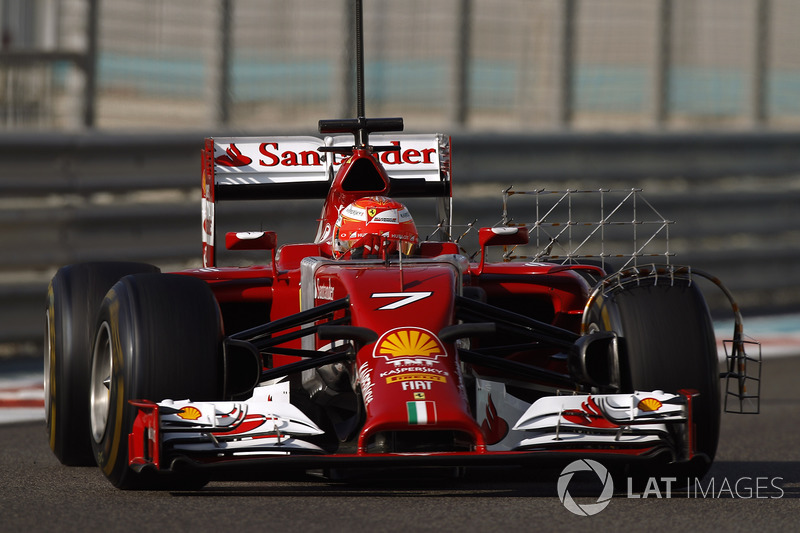 2014 : Kimi Räikkönen, Ferrari F14T