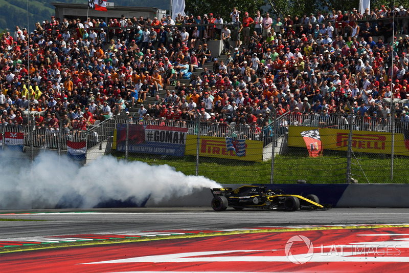 Hulkenberg reports his race-ending engine issue
