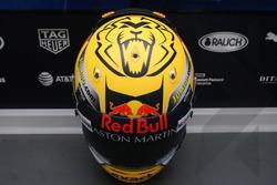 Special helmet of Max Verstappen, Red Bull Racing