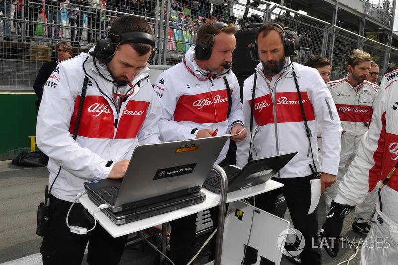 Sauber on the grid