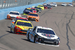 Kevin Harvick, Stewart-Haas Racing, Ford Fusion Jimmy John's and Joey Logano, Team Penske, Ford Fusion Pennzoil
