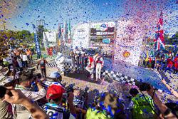 Podyum: Yarış galibi Sébastien Ogier, Julien Ingrassia, M-Sport Ford WRT Ford Fiesta WRC, 2. Dani Sordo, Carlos Del Barrio, Hyundai Motorsport Hyundai i20 Coupe WRC, 3. Kris Meeke, Paul Nagle, Citroën World Rally Team Citroën C3 WRC