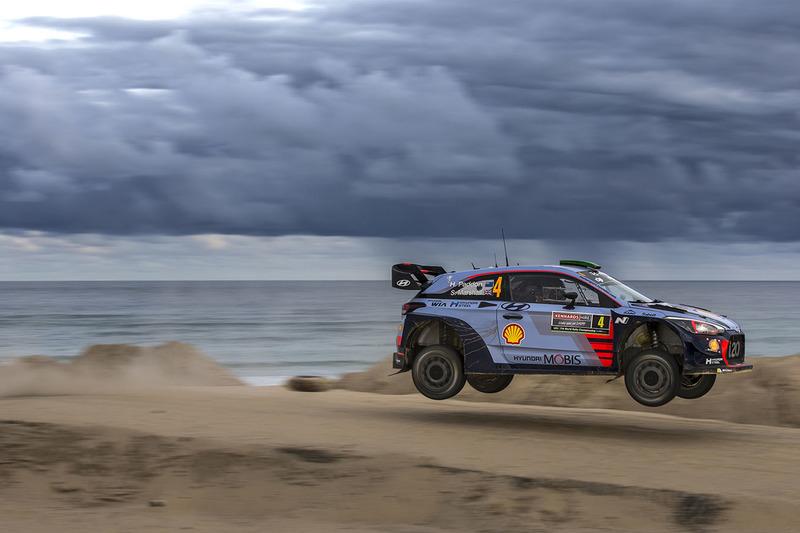 Хейден Педдон, Себастьян Маршалл, Hyundai i20 WRC, Hyundai Motorsport