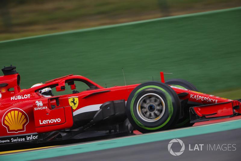 2. Себастьян Феттель, Ferrari SF71H – 1:58.905