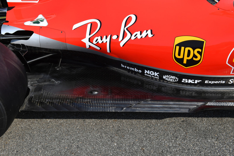 Italian GP Latest F Tech Updates Direct From The Garages - Upper cape tech car show