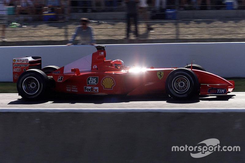 50勝目:2001年フランスGP