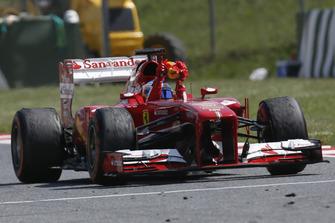 Ganador de la carrera Fernando Alonso, Ferrari F138