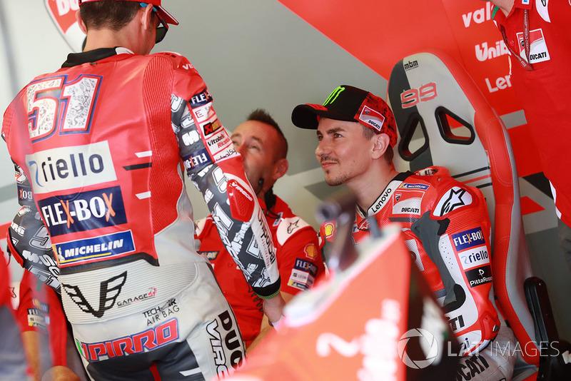 Michele Pirro, Ducati team, Jorge Lorenzo, Ducati Team