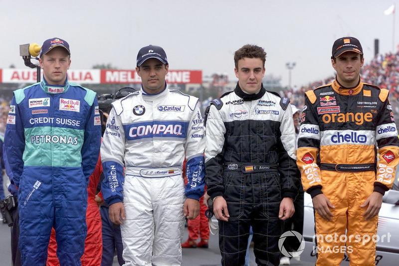 Temporadas en F1: 17 (de 2001 a 2018, a excepción de 2002)