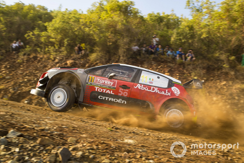 Craig Breen, Scott Martin, Citroën World Rally Team Citroën C3 WRC McKlein
