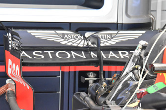 Red Bull Racing achterzijde detail
